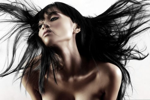 Японское наращивание волос