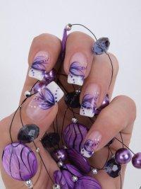 Наращивание ногтей на формах