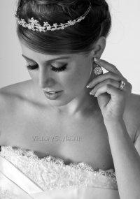 Наращивание ресниц на свадьбу