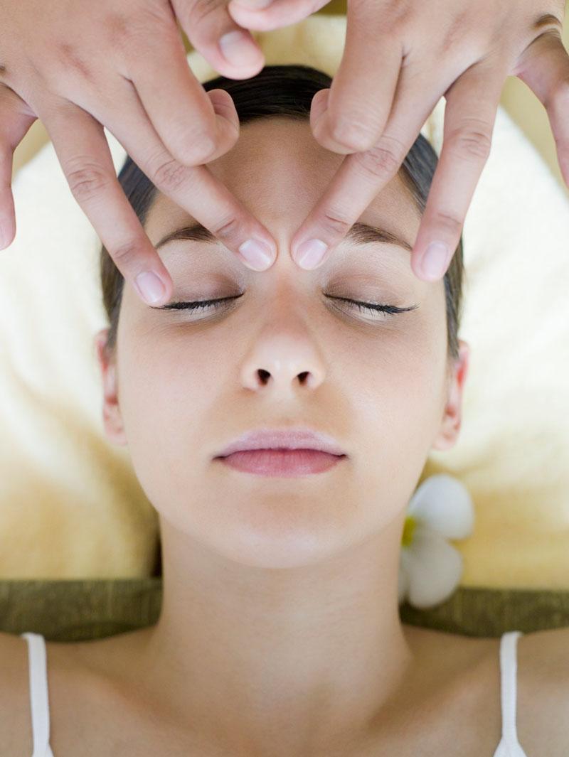 массаж точечный от заикания